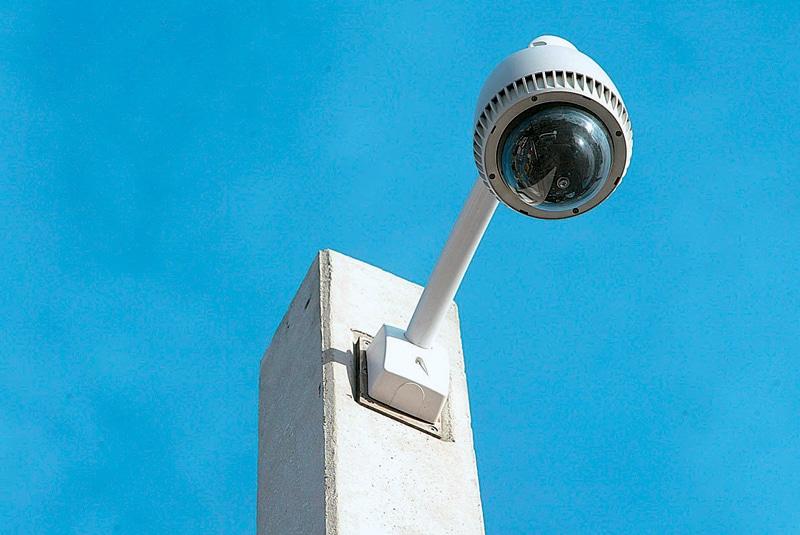 κάμερα στους κοινόχρηστους χώρους